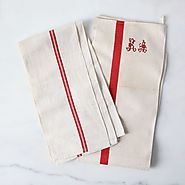 Vintage French Kitchen Towels