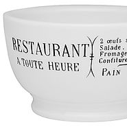 French Café Au Lait Bowl