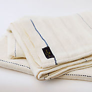 True Linen Huckaback Bath Towel