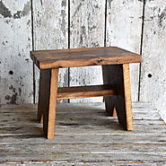 Classic Wood Step Stool