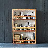 Eco-Friendly Apothecary Cabinet
