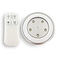 CMB Tap Lights , Wireless Remote control puck light Dimmable lamp with Touch-Activated Sensor for Storage Room and Ca...