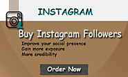 Buy Instagram Followers for improving your social network clout - SEO Company Pakistan | SEO Services in Lahore