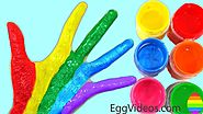 Learn Colors for Kids Children Toddlers Finger Family Nursery Rhymes Learning Video Compilation