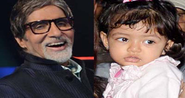 Granddaughter Aaradhya checks on Big B's health 1