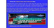 Guidelines For Auto Collision Repair North Hollywood