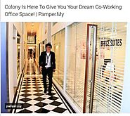 Colony Is Here To Give You Your Dream Co-Working Office Space!