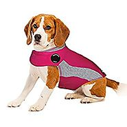 ThunderShirt Polo Dog Anxiety Jacket, Pink, X-Small