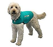 Thundershirt Dog Jacket for Anxiety, Green