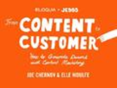 From Content to Customer by Eloqua & JESS3