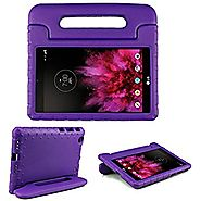 SIMPLEWAY LG G Pad X 8.0 Kids Case Carry Handle Child Stand Holder EVA Foam Shock Proof Case Cover for LG G Pad X 8.0...
