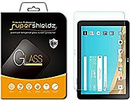 LG G Pad X 10.1 Tempered Glass Screen Protector, Supershieldz Ballistics Glass 0.3mm 9H Hardness Anti-Scratch, Anti-F...