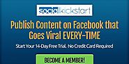 Social Kickstart 2 Review: Secret Loophole Creating Viral Facebook Content - FlashreviewZ.com