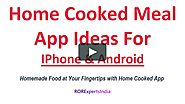 An App for Home Cooking Meals Food from Locally