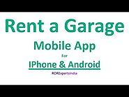 Rent a Garage Mobile Application for IPhone and Android
