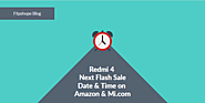 Redmi 4 Next Flash Sale Date on Amazon