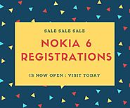 Buy Nokia 6 Flash Sale