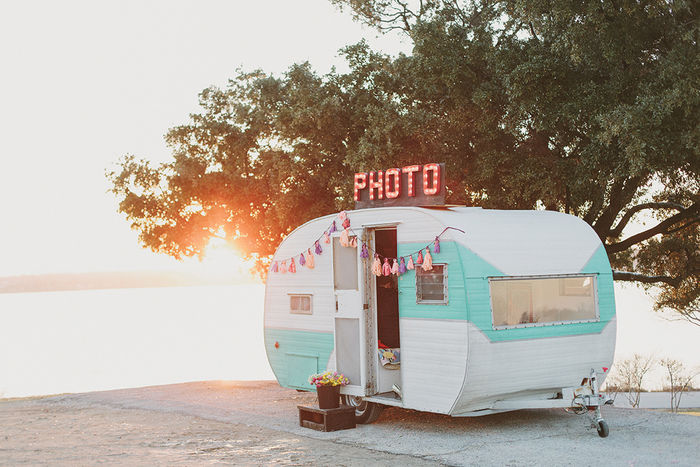 Vintage Camper Photo Booths: 10 Adorable Booths for Rent