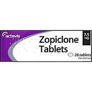 Get Rid Of Insomnia By Zopiclone Tablets