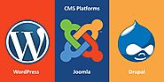 Technical Comparison Between WordPress, Joomla & Drupal