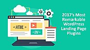 Requirements Of Landing Page Plugins On WordPress Website