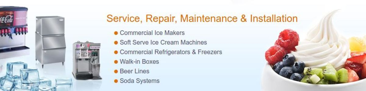 Headline for FixIce.com - Ice Machine service, Repair, Maintenance & Installation