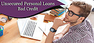 Credible Offers Listed on Unsecured Personal Loans for Bad Credit People