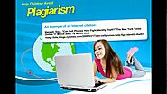 Plagiarism Don't Do It - Help Children Avoid Plagiarism - Internet Safety