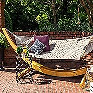 Hatteras Hammocks Soft Weave Hammock - Antique Beige