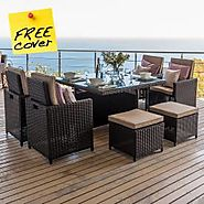Rattan Garden Cube Sets | Cube Garden Furniture UK | Zebrano Furniture