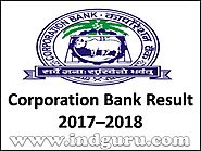 Corporation Bank Result