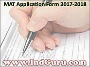 MAT Application Form