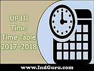 UP ITI Time Table