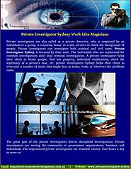 Meet Cheap Private Investigator Sydney - privateinvestigator.sydney