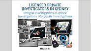 Find Private Investigator Sydney - Private Investigator