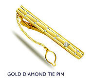 Diamond Tie Pins that Improve Your Personality