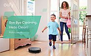 Eufy RoboVac 11, High Suction, Self-Charging Robotic Vacuum Cleaner with Drop-Sensing Technology and HEPA Style Filte...