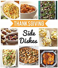 Happy Thanksgiving Side Dishes 2017 - 11 Recipes For Thanksgiving Side