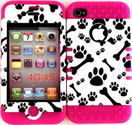 iPhone 4 Cases With Paw Prints