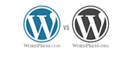 Wordpress.com vs Wordpress.org- Which One is Right? - Dot Com Only