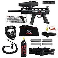 Tippmann X-7 X7 Phenom Electro Paintball Marker Extreme Package