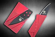 Folding Wallet Credit Card Knife