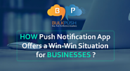 A push notification does a lot of job; including but not limited to increase targeted traffic, help you gain insights...