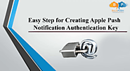 For sending push notifications to iOS users, you should upload either an APNs push certificate or an APNs authenticat...