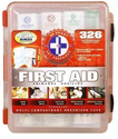 First Aid Kit With Hard Case- 326 pcs- First Aid Complete Care Kit - Exceeds OSHA & ANSI Guidelines - Ideal for the W...