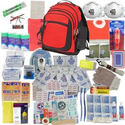 Deluxe 2-Person Perfect Survival Kit for Emergency Disaster Preparedness for Earthquake, Hurricane, Fire, Evacuations...