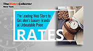 The Leading Web Store to get Men's luxury brands at unbeatable price rates