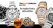 An insight of men's style watches