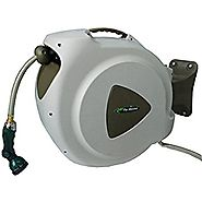 RL Flo-Master 65HR8 Retractable Hose Reel with 8 Spray Pattern Nozzle, 65-Foot
