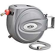 "RAINWAVE RW-AR5880 Retractable Swivel Wall Mounted Hose Reel of 5/8"" x 80'"